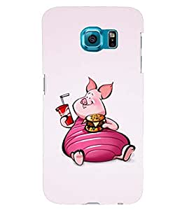 PRINTSWAG CARTOON CHARACTER Designer Back Cover Case for SAMSUNG GALAXY S6