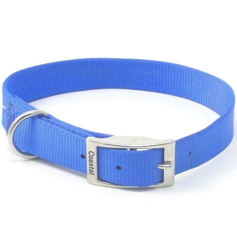 Coastal Pet Products DCP290122BLU Nylon Double Dog Collar, 1