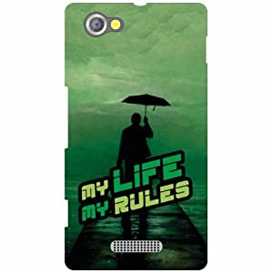 Sony Xperia M Printed Mobile Back Cover