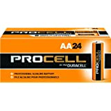 24 Duracell Procell AA And 24 Duracell Procell AAA Alkaline Batteries + Free Batuca Battery Holders