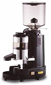 Brasilia RR45S Rossi SemiAutomatic Flat Burr Coffee Grinder With Micrometric Adjusting Device
