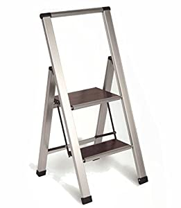 2 Step Foldable Rv Ladder Aluminum Folding Motorhome Boat