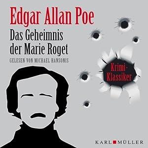 Das Geheimnis der Marie Roget Hörbuch