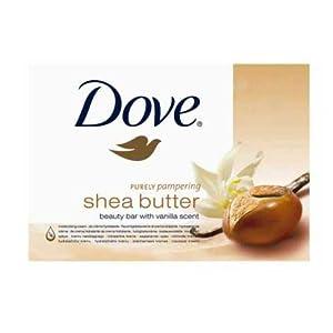 Dove savon au beurre de karité 2x 100g