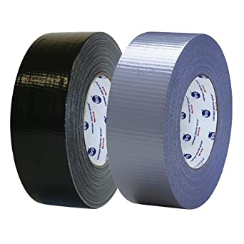 "IPG AC10 Utility Grade Duct Tape, 17 lbs/in Tensile Strength, 60 yards Length x 2"" Width, Silver"
