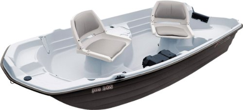 Sun Dolphin Pro Fishing Boat, 10.2-Feet
