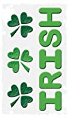 "Happy St. Patricks Day Decorations: Reusable Window Gel Clings, 6"" x 12"" (Irish and…"