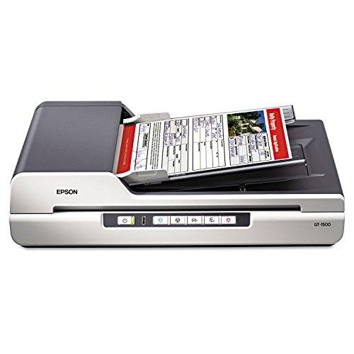 Epson-GT-1500-Flatbed-Color-Image-Scanner-600dpi-Manual-Paper-Feeder