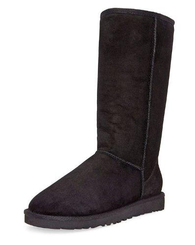 UGG Australia Women's Classic Tall Boots Footwear Black Size 10
