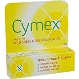 CYMEX COLD SORES ANTIBACTERIAL CREAM 5G - 5 G