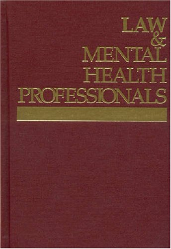 Law & Mental Health Professionals: Massachusetts