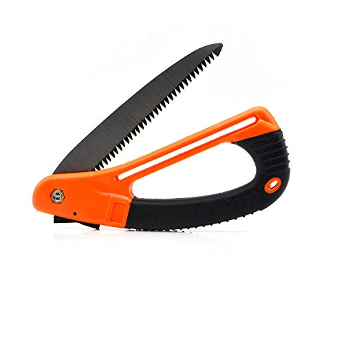 Garden Saw, Pruning Saw, Folding Hand Saw, Freehawk® Tree Trimming, Rugged Razor Tooth Pruning Saw Trimmer for Clean Cut Gardening