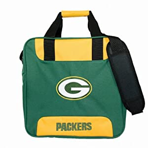 NFL Single Bowling Bag- Green Bay Packers by KR Strikeforce Bowling Bags