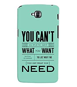 printtech Need Quote Back Case Cover for LG GPro Lite::LG G Pro Lite Dual D686