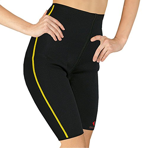 """Elastic Medical Grade Class Neoprene Deluxe Compression Slimming Shorts For Support And Warming Of Hip And Thigh Joints"" (Xxxl (See Sizing Guide Below))"