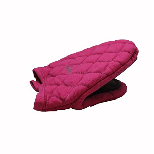 Fox Run Long Oven Mitt, Pink