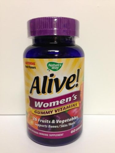 Nature`S Way Alive! Women`S Gummy Vitamins 60 Ct (Pack Of 4)