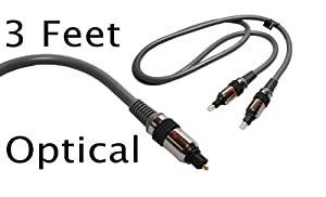 Acoustic Research HT 180 High Performance Optical Digital Audio Cable (3ft)