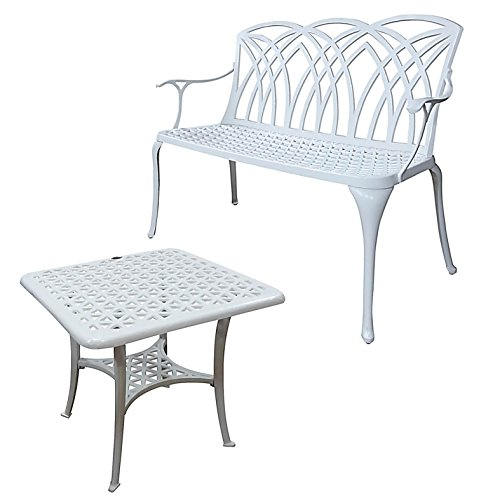 gartenbank metall weiss preisvergleiche. Black Bedroom Furniture Sets. Home Design Ideas