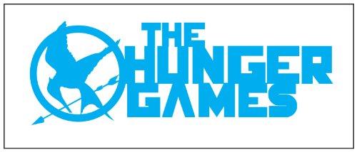 Hunger Games Design 2 Sticker Decal Blue