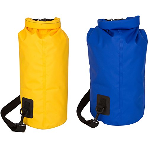 08cf96e2fc75 Dry Bag (2 Pack) With Shoulder Strap. Waterproof Dry Gear Bags for ...