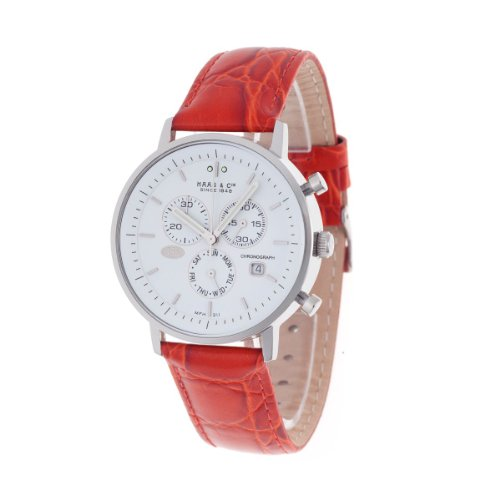Haas  &  Cie Vitesse Men's Chrono Red Watch MFH211ZWB-R