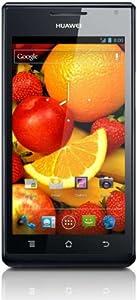 Huawei U9200 ASCEND P1 - Teléfono móvil libre,  pantalla 4.3 pulgadas, cámara 8 MP, Android 4.0, color negro