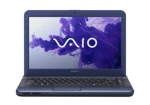 Sony VAIO VPCEG33FX/L 14-Inch Laptop (Blue)