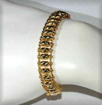 Bracelet Rolex Style 18K Gold Overlay great gift