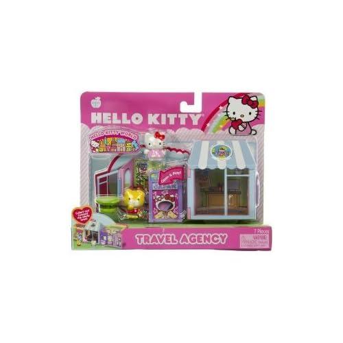Sanrio Hello Kitty World Playset   TRAVEL AGENCY