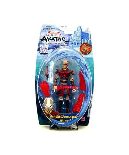 Buy Low Price Mattel Avatar the Last Airbender Basic Water Series Action Figure Battle Damaged Zuko (B0012N3TQQ)