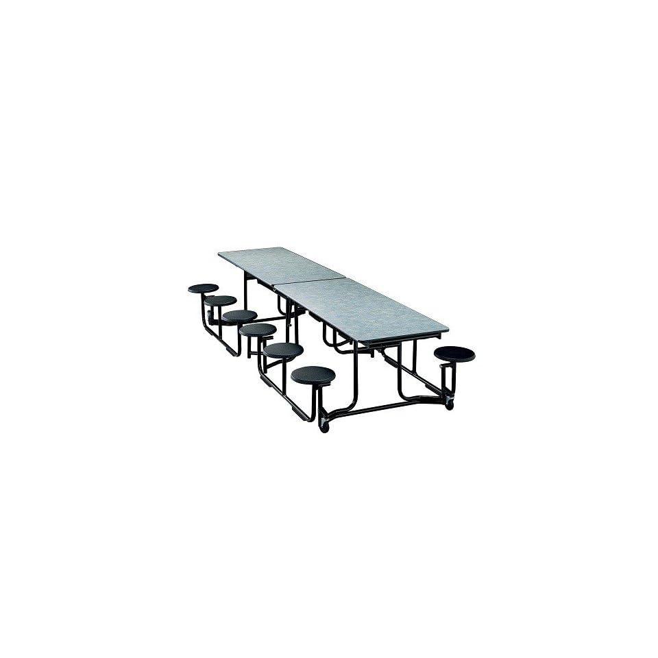 Swell Ki Uniframe Uf106 Rectangular Stool Cafeteria Table 60 X 120 Machost Co Dining Chair Design Ideas Machostcouk