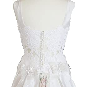 Alfred Angelo White Wedding Gown Dress, Size 12, Fl37
