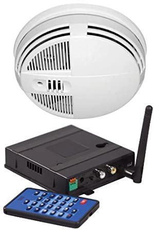 SC7450 Xtreme Life Night-Vision Smoke Detector Covert Indoor IR Color