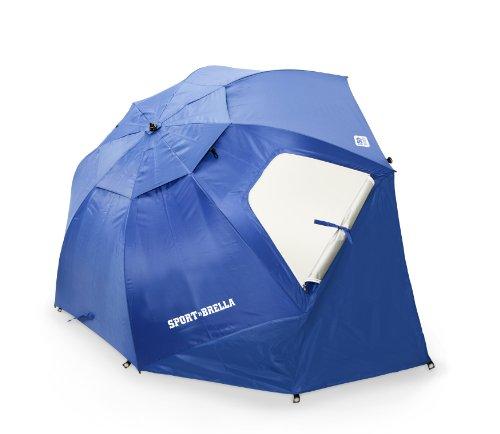 Sport-Brella Umbrella, Blue front-774067