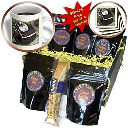 Susan Brown Designs Dessert Themes - Irish Chocolate Mint Dessert - Coffee Gift Baskets - Coffee Gift Basket