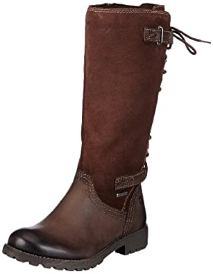 Tamaris Womens Tamaris-ACTIVE Boots Brown Braun (MOCCA 304) Size: 3