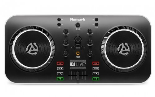 Best Prices! Numark iDJ Live II DJ Controller for Mac, PC, iPad, iPhone and iPod Touch (USB, Lightni...