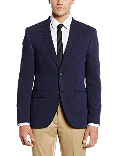 Blackberrys Men's Slim Fit Blazer (8907196643122_CJROND2NYBE23NLL40_Blue)