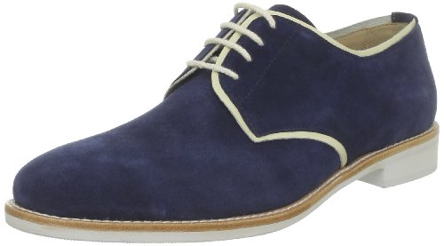 C. Petula Men's Teddy Lace-Up Flats