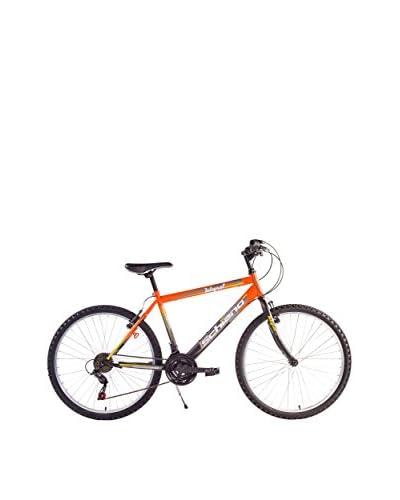 SCH Bicicleta Mtb Integral 24″ 18 V Shimano Naranja / Negro