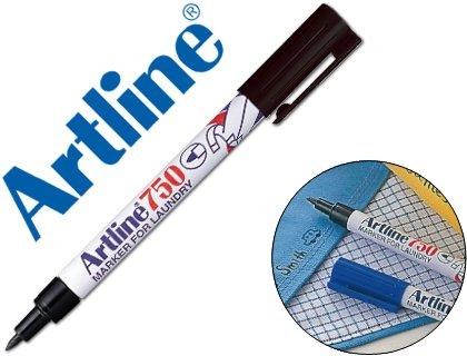 rotulador-artline-marcador-permanente-ek-750-negro-punta-redonda-07-mm-en-blister-brico-para-lavande