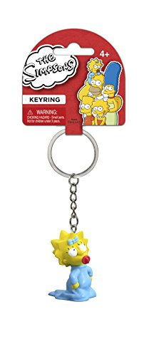 Fox The Simpsons Maggie 3D PVC Key Ring