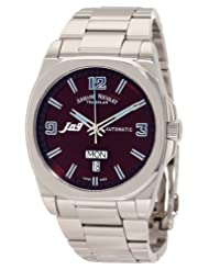 Armand Nicolet Men's 9650A-MR-M9650 J09 Casual Automatic Stainless-Steel Watch