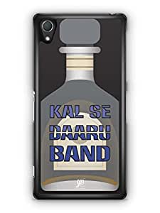 YuBingo Kal Se Daaru Band Mobile Case Back Cover for Sony Xperia Z2