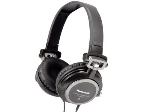 Panasonic Consumer Rp Dj600 Headphones Binaural Wired Ear Cup Stereo Sound Closed-Ear Design