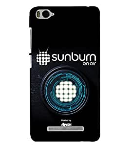 PRINTSHOPPII SUNBURN MUSIC Back Case Cover for Xiaomi Redmi MI 4C::Xiaomi Mi 4C
