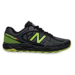 New Balance Men\'s Leadvillev3 Trail Shoe, Black/Toxic, 10.5 4E US