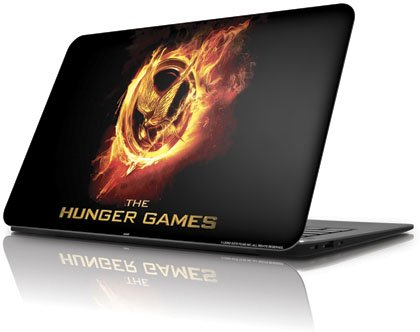 Skinit The Hunger Games Logo Vinyl Laptop Skin for Dell XPS 13 Ultrabook