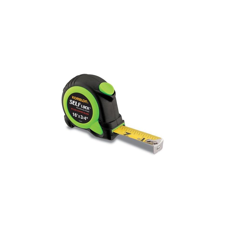 16-Foot Komelon SL2816 Self Lock Power Tape